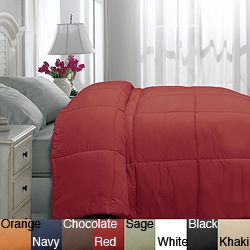 @Overstock - Update your bedroom décor with this soft and warm down alternative comforter. The comforter is filled with 100-percent polyester, ensuring durability and comfort.http://www.overstock.com/Bedding-Bath/Microfiber-Twin-XL-size-Down-Alternative-Comforter/6167036/product.html?CID=214117 $39.99