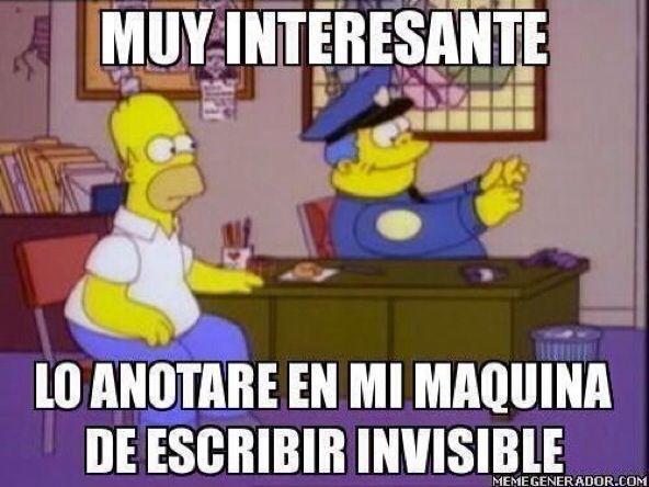Homero simpson also memes wsp pinterest gracioso  chistes rh co