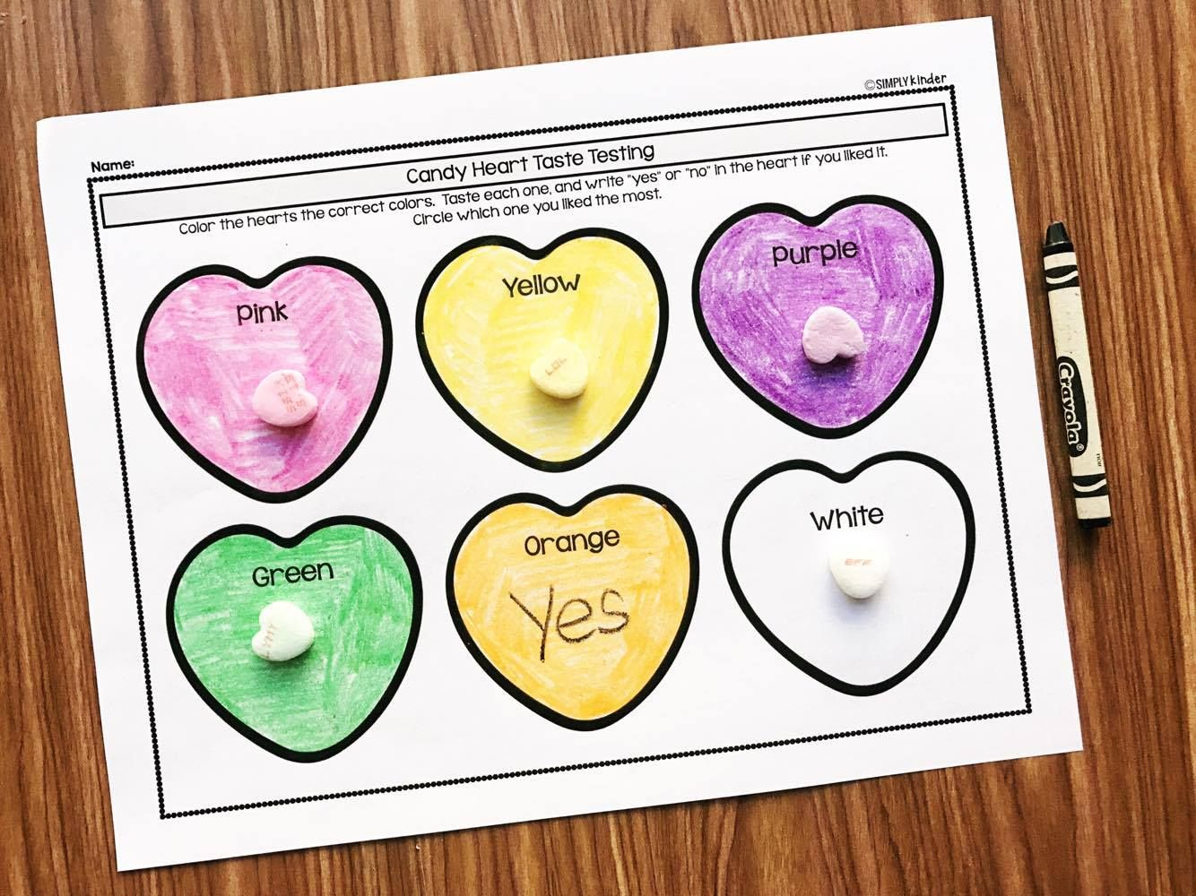 13 Candy Heart Activities