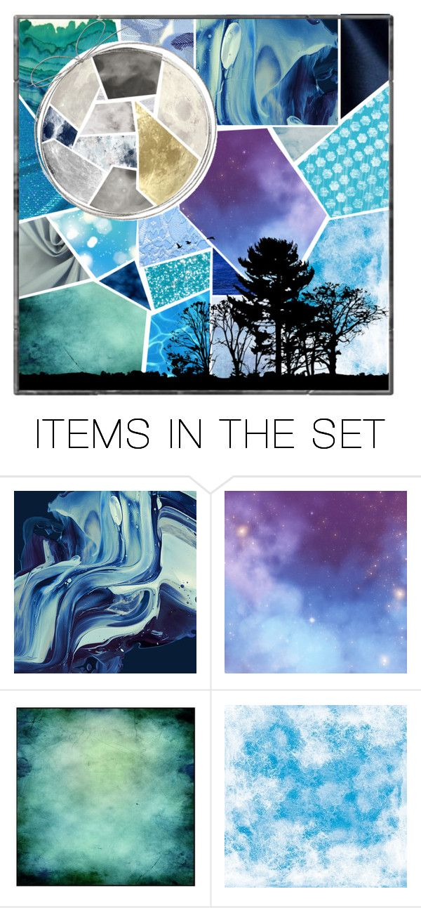 """""""Moonlight"""" by elmtree87 ❤ liked on Polyvore featuring art"""