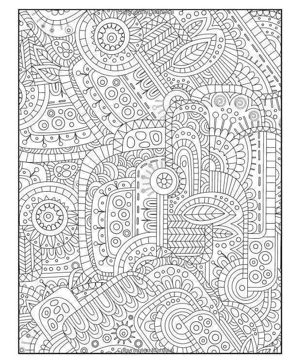 Diabolically Detailed Coloring Book (Volume 4) (Art-Filled Fun ...