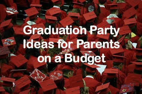 Inexpensive Graduation Party Ideas Here Is How I Threw My Daughter A