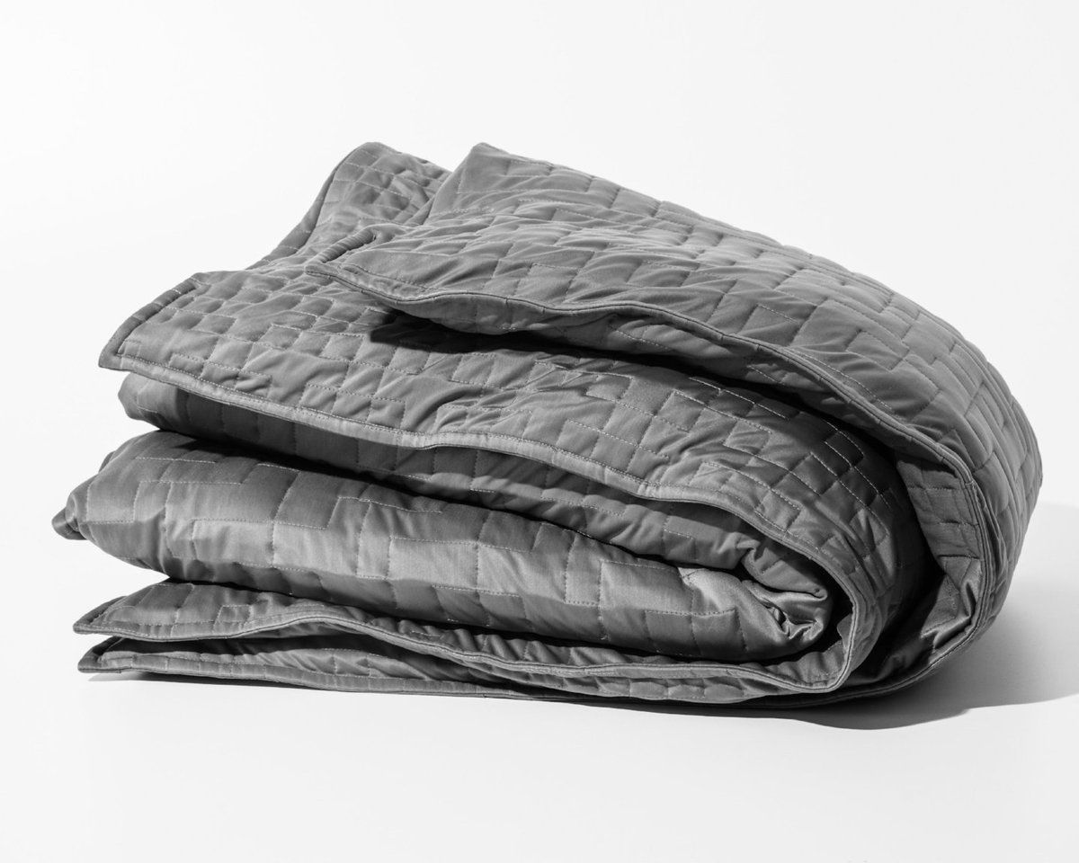 The Gravity Cooling Blanket Leverages The Same Weighted Technology