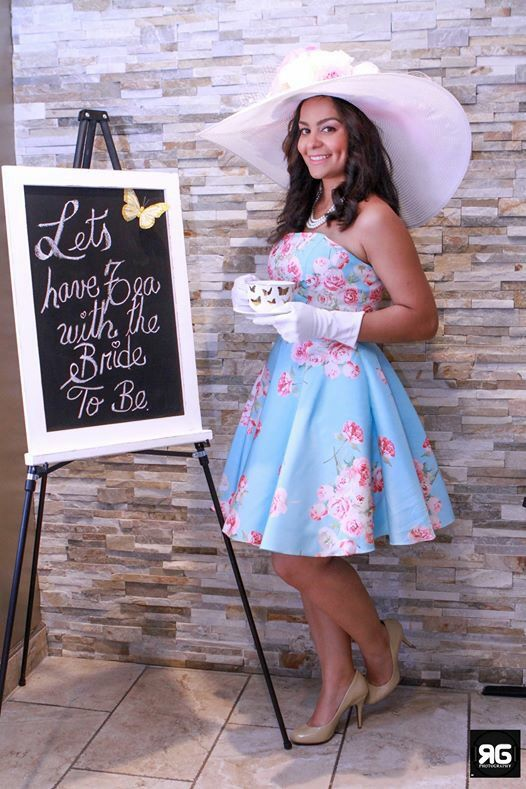 Tea party Bridal shower. The bride to be outfit. Tea party dress | Looks that I love | Pinterest ...