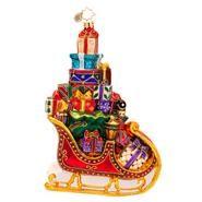 2014 Radko Sleigh Pile Up Ornament 1017365