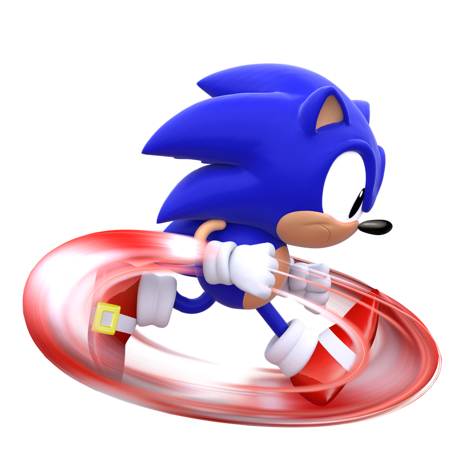 Classic Sonic Running By Modernlixes On Deviantart Sonic Classic Sonic Classic