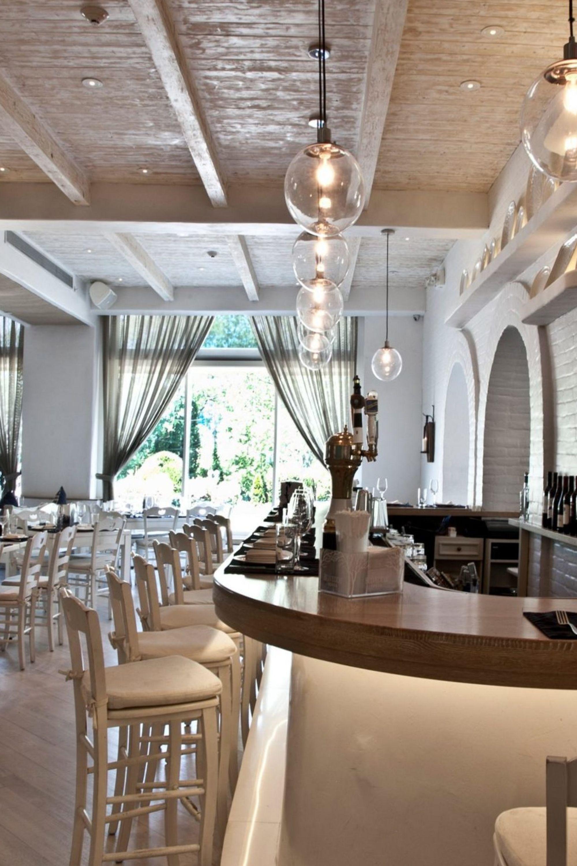Greek Inspired Restaurant Paris K Interior Design Woods Restaurant Restaurant Decor Interior Design