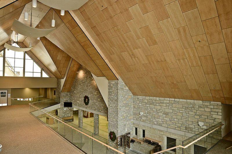 Alphasorb Wood Fiber Acoustic Ceiling Tile Acoustic