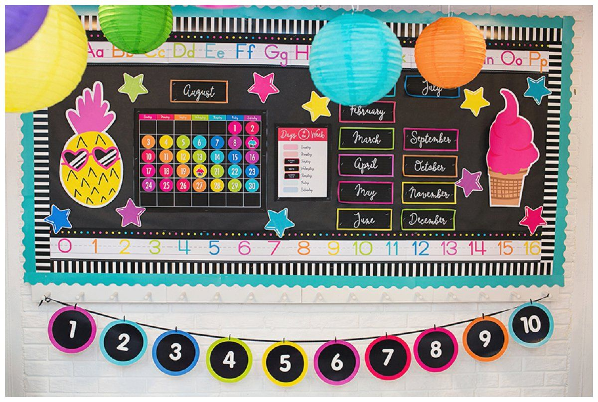 Neon Classroom Decor ~ Neon pop collection by schoolgirl style