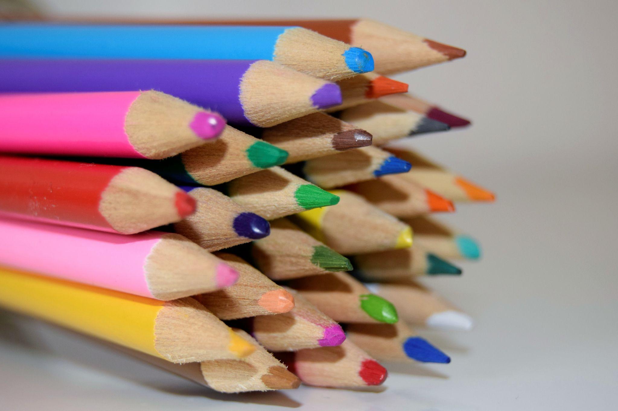 Free Colored Pencils Stock Photo - FreeImages.com