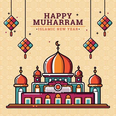 Islamic New Year Wallpaper Images 2020 For Muslims | Seni ...