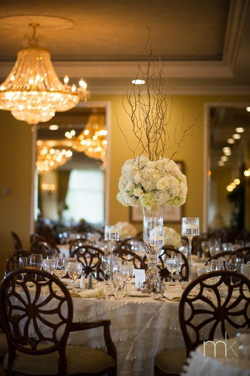 Real Bride Shares Advice After Pennsylvania Wedding At The Overbrook Golf Club From Mkphotography Centerpiece Idea