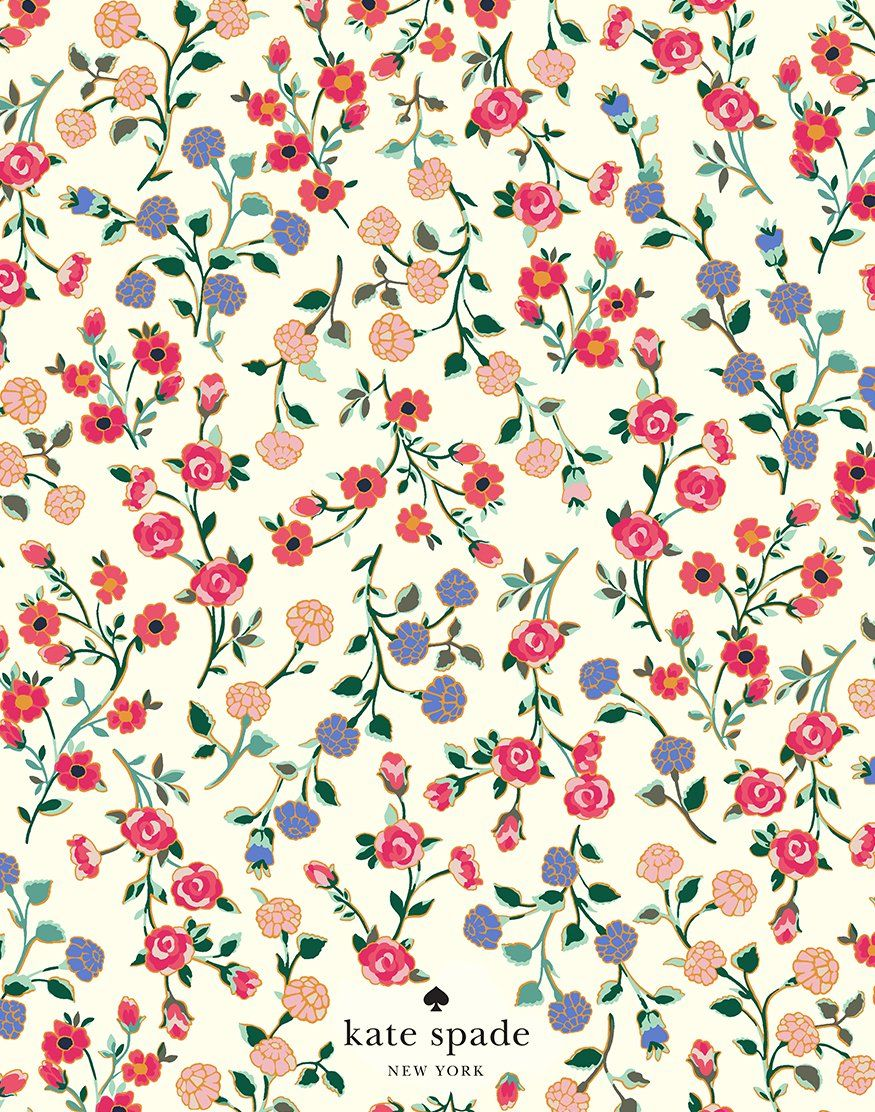 spring blooms to go! download them. #katespadewallpaper