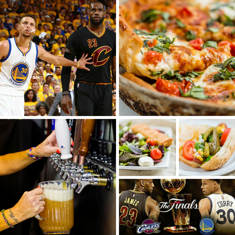The NBA Finals have arrived! Join us tonight at 600pm for