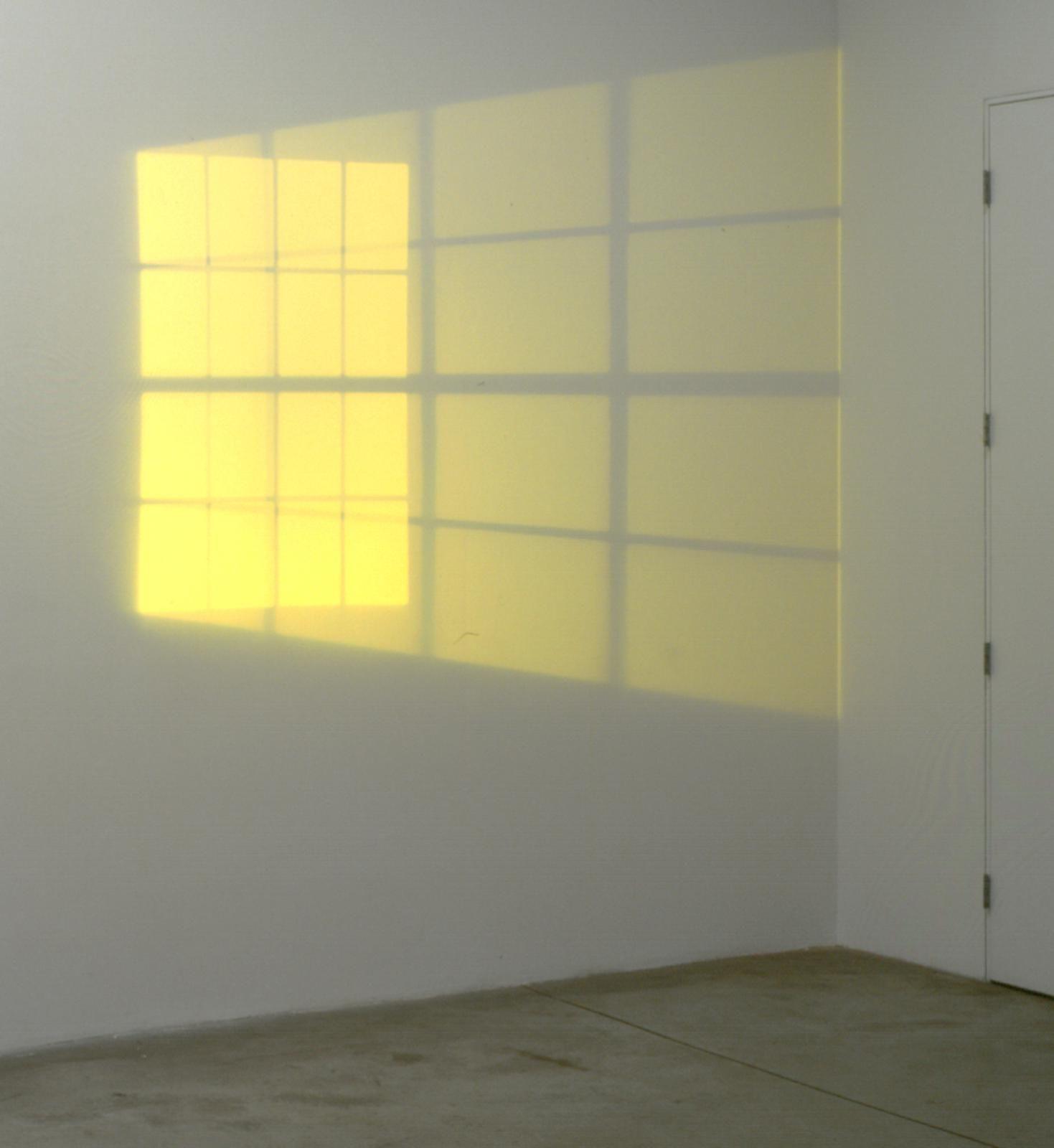 Yellow double hung window • Studio Olafur Eliasson | color story ...