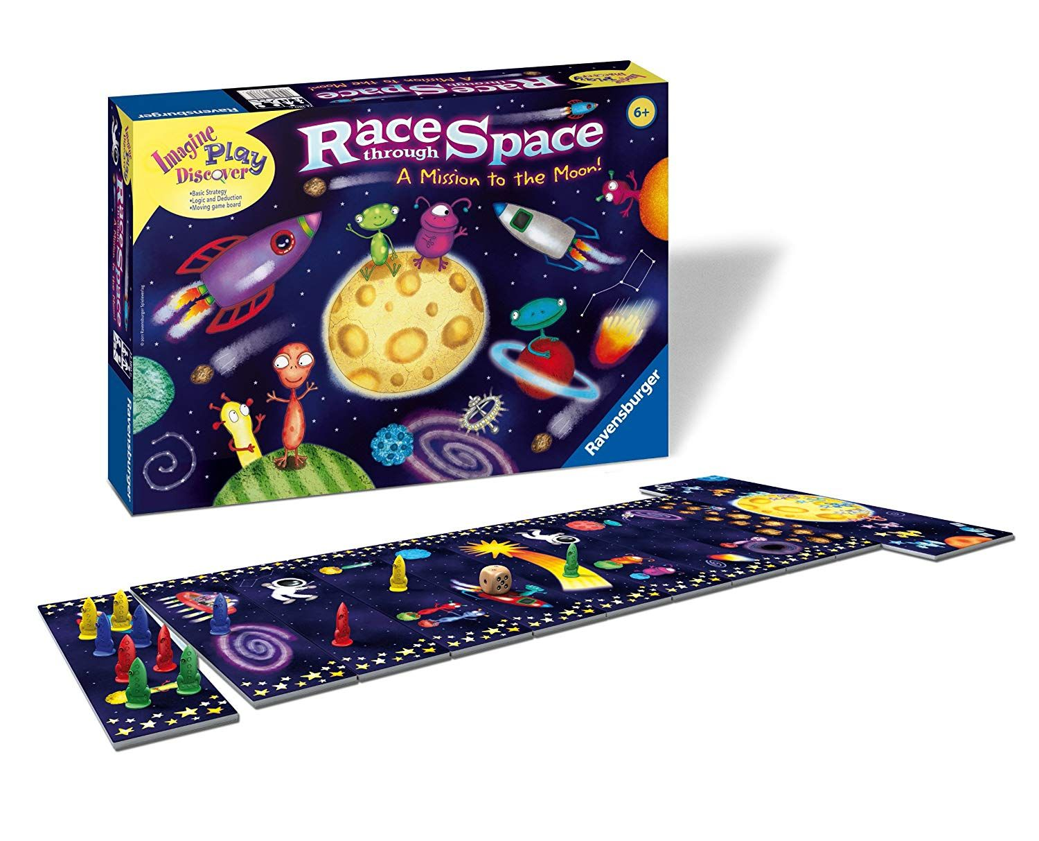 Race Through Space Children S Game Take A Look At This