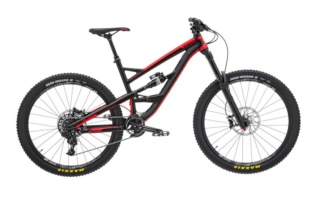 Capra Al Comp Black Pearl Coral Red Yt Industries Uk Mtb