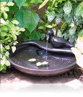 Installez une fontaine solaire dans votre jardin avec Jardins ...