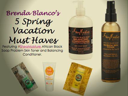 Brenda Blanco's 5 Spring Vacation Must Haves