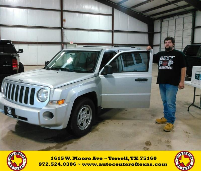 Congratulations Tyler Michael On Your Jeep Patriot From Jesse Zavala At Auto Center Of Texas Used Cars Car Dealer Used Car Dealer
