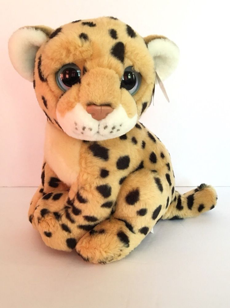 Ty Wild Beast Cheetah Serengeti 10 Plush Leopard Cat Big Eye