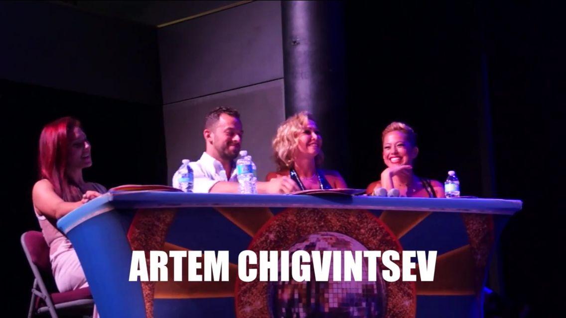 Screencap of Artem as judge - source: ©popularcruising's video