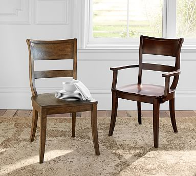 Bradford Dining Chair Potterybarn Dining Chairs Furniture Blue Chairs Living Room