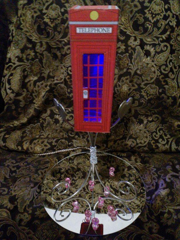 CABINA TELEFONICA LONDRES PARA CENTRO DE MESA INFORMES CON LILY CEL: 044-811-74-111-61