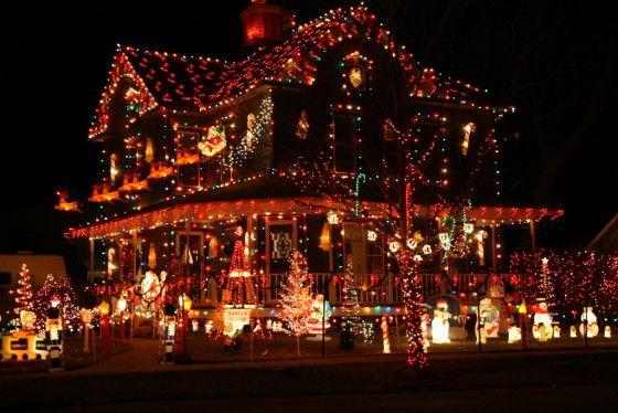Voici 10 des plus belles décorations de maisons pour Noël. Quand le ...