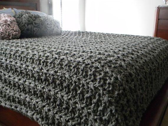 Giant Super Chunky Knit Blanket Pattern Pattern By Luckyhanks