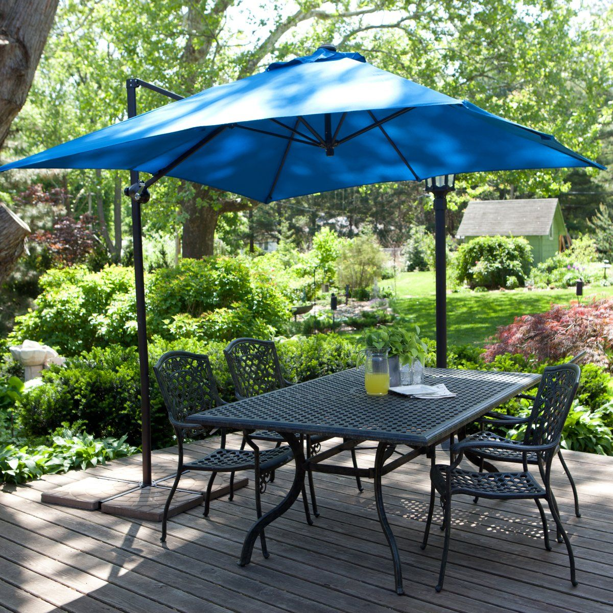 patio wonderful decoration umbrellas red with room in umbrella sears best rated offset furniture