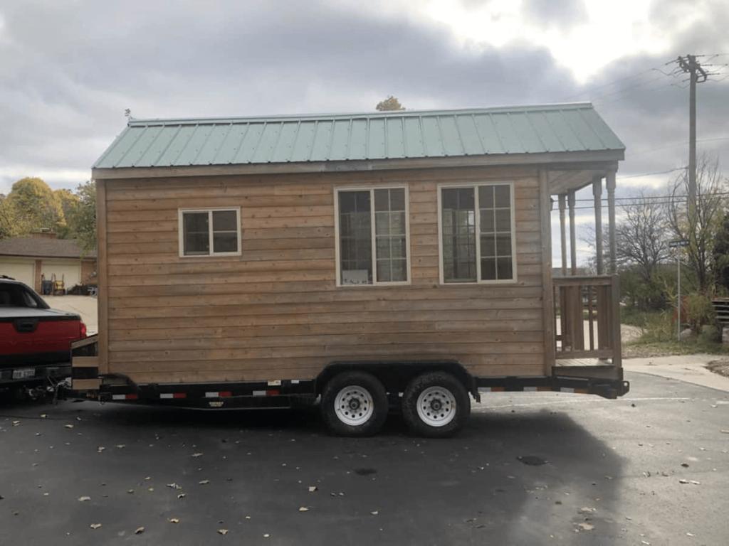 Shower and Loft tiny houses Houston Texas for sale $46000 | Tiny