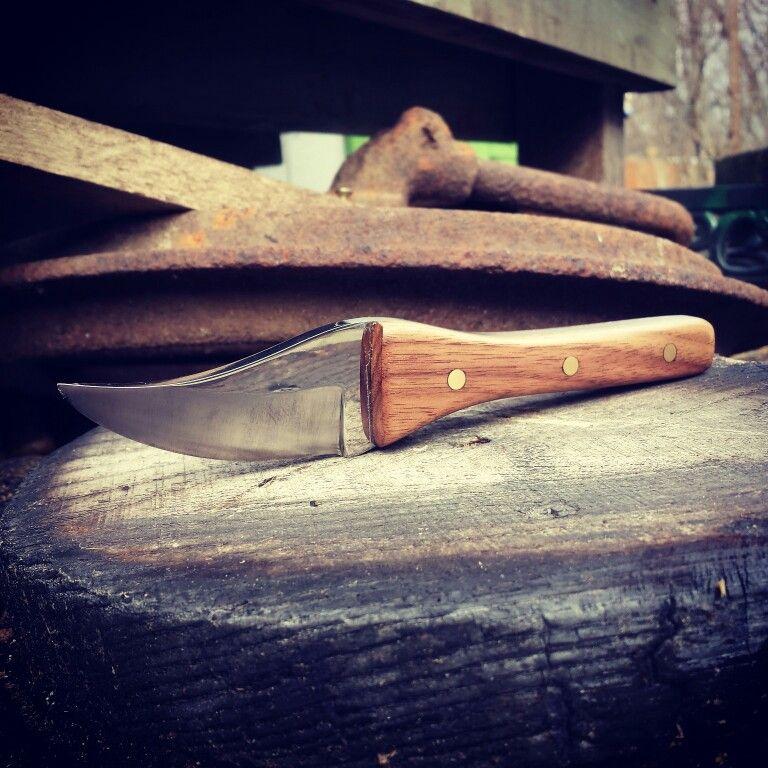 Black Walnut handle knife.