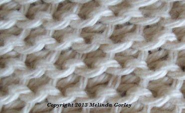 Tunisian Crochet-Tunisian Purl Stitch