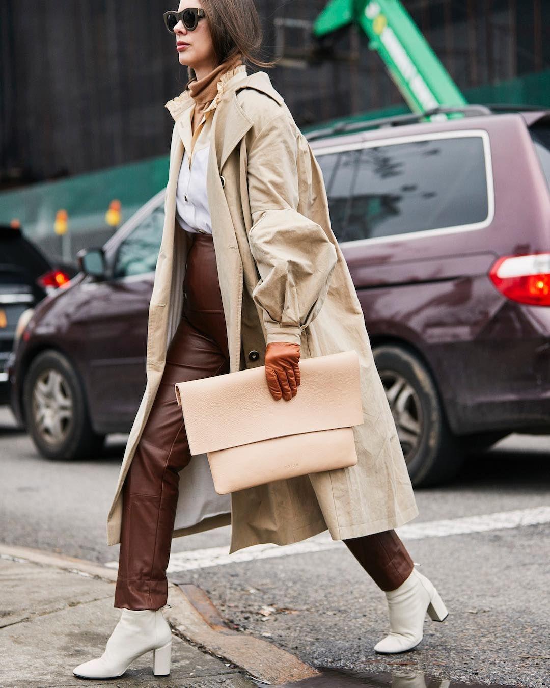 Harper S Bazaar Polska On Instagram Nowojorski Tydzien Mody Na Sezon Jesien Zima 2019 20 Dobie Cool Street Fashion New York Fashion Week Color Trends Fashion