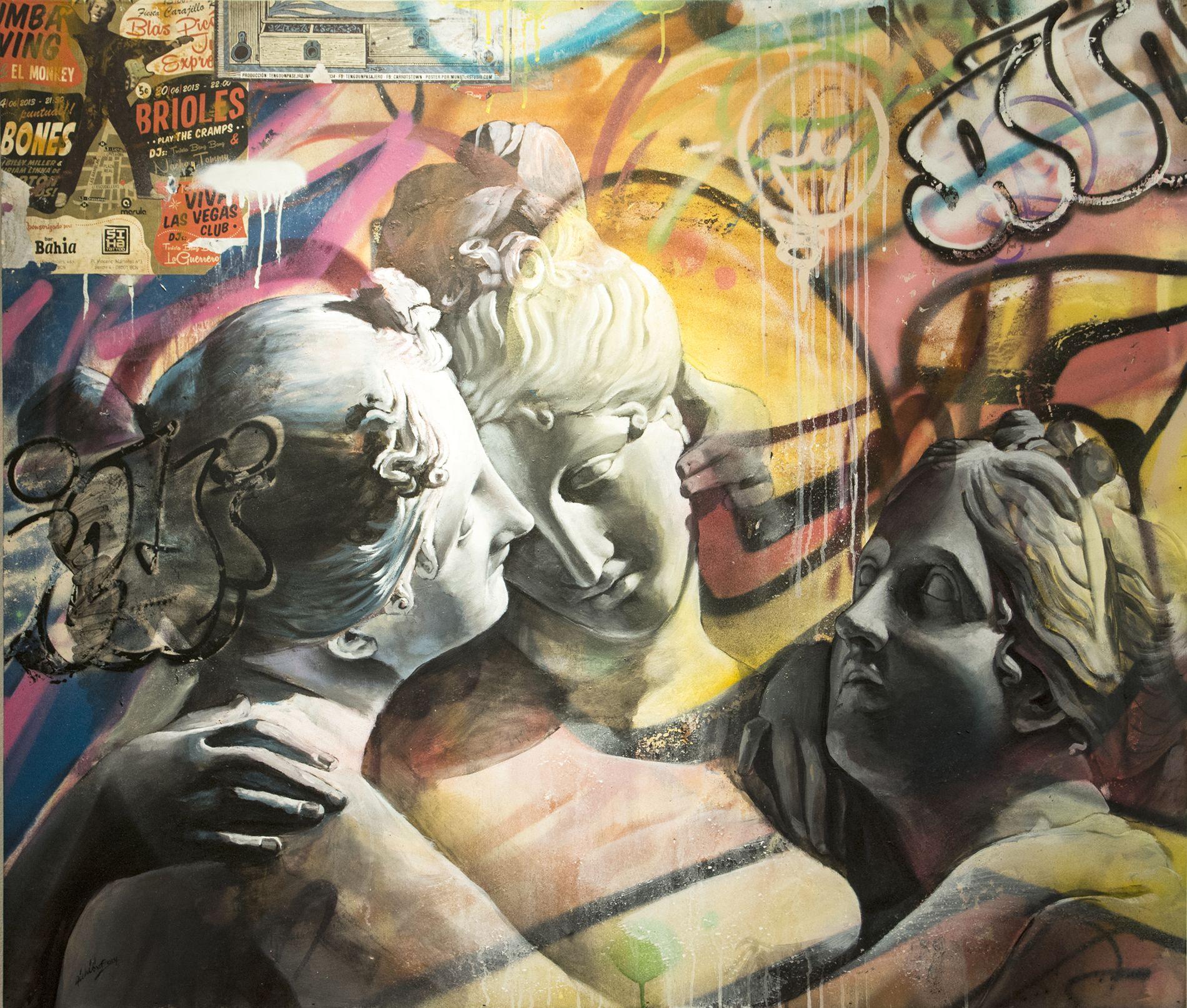 DSCjpg Street Urban Wall Art Pinterest - Beautiful giant murals greek gods pichi avo