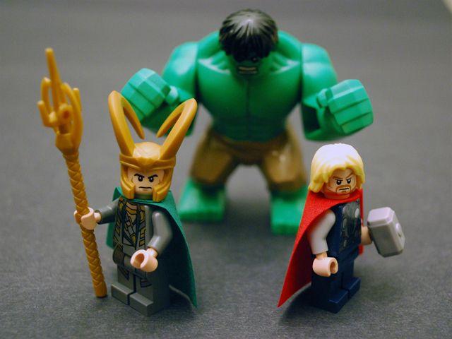 Lego Hulk Vs Thor | www.pixshark.com - Images Galleries ...