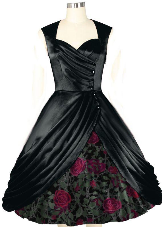 julie dress Vintage fashions