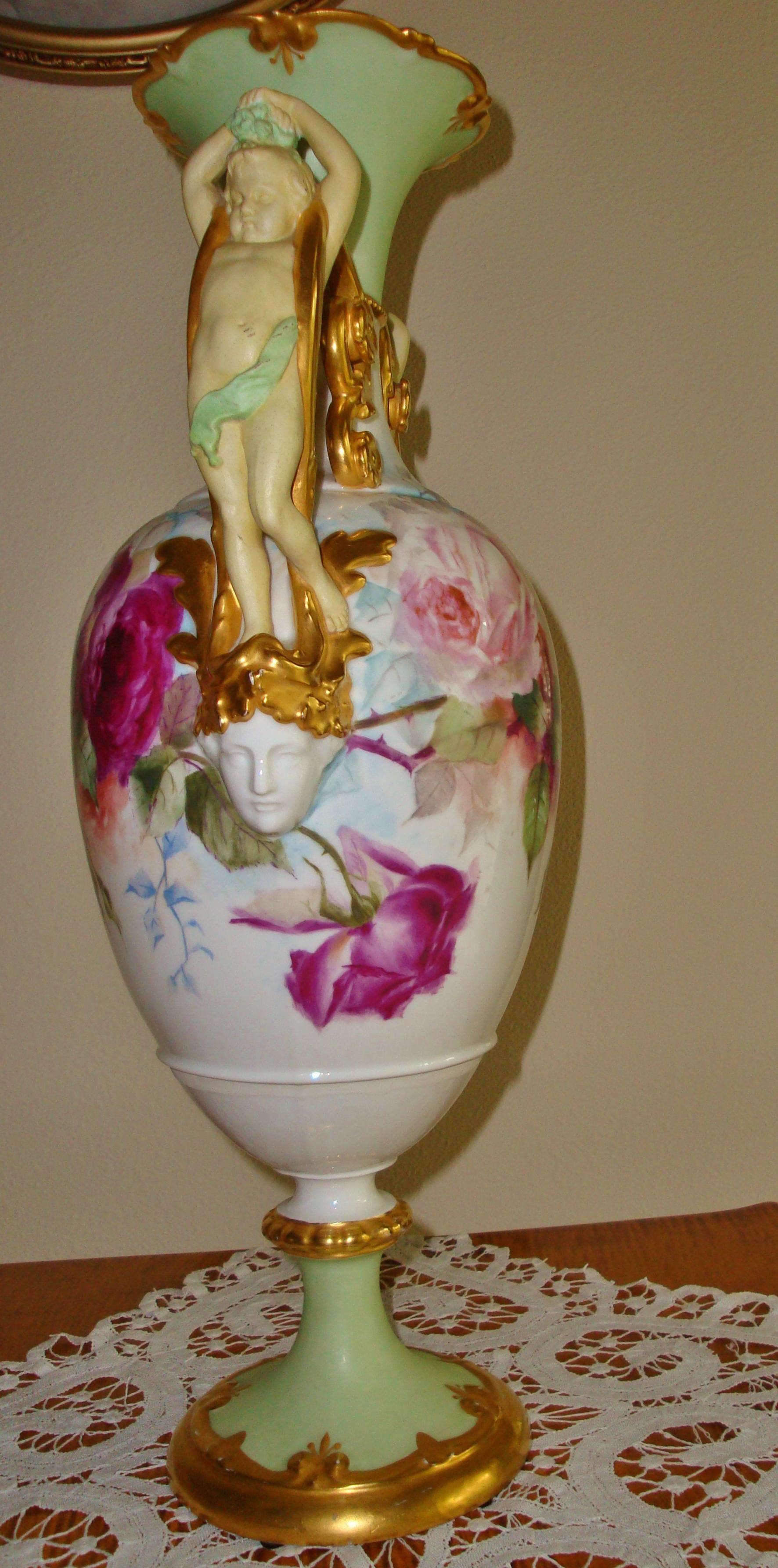 Museum Quality Antique Royal Vienna Hand Painted Porcelain 21 34