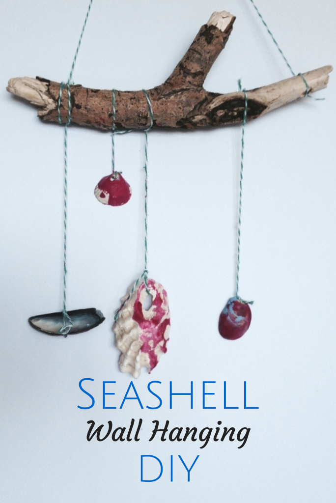 Amazing Wall Hanging Craft Ideas For Kids Part - 6: Seashell Craft Ideas: Wall Hanging