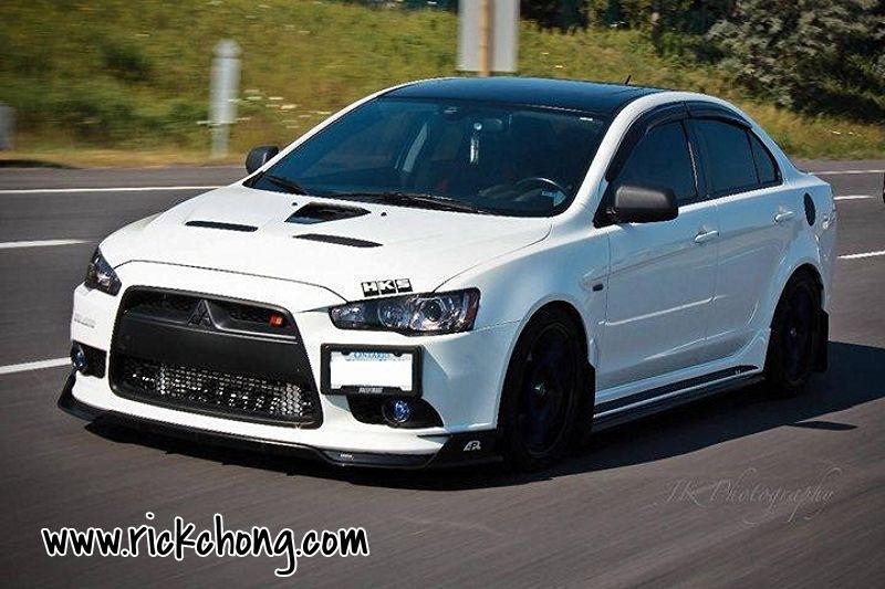 Mitsubishi Lancer Ralliart >> Mitsubishi Lancer Ralliart Front Diffuser Lip Kit Pu