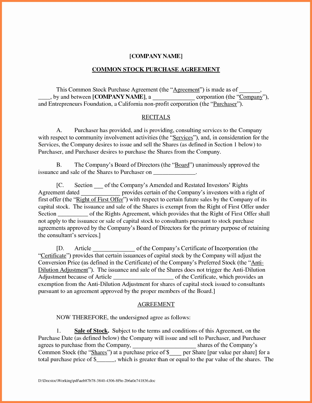 Company Equipment Use And Return Policy Agreement Fresh 3 Business Agreement Template Between Contract Template Business Agreement Template Business Agreement