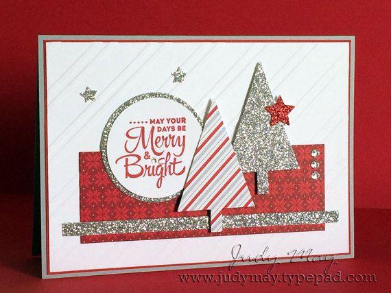 Items similar to Handmade Christmas Card on Etsy