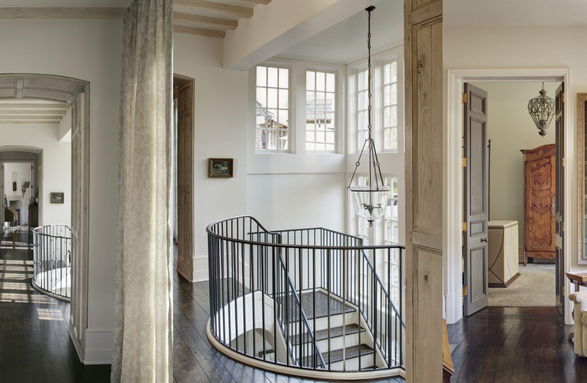 Home interior railings bill ingram architect lake martin alabama llingramarchitect