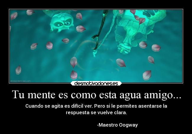 Frases Sabias Del Maestro Oogway J Kosong W