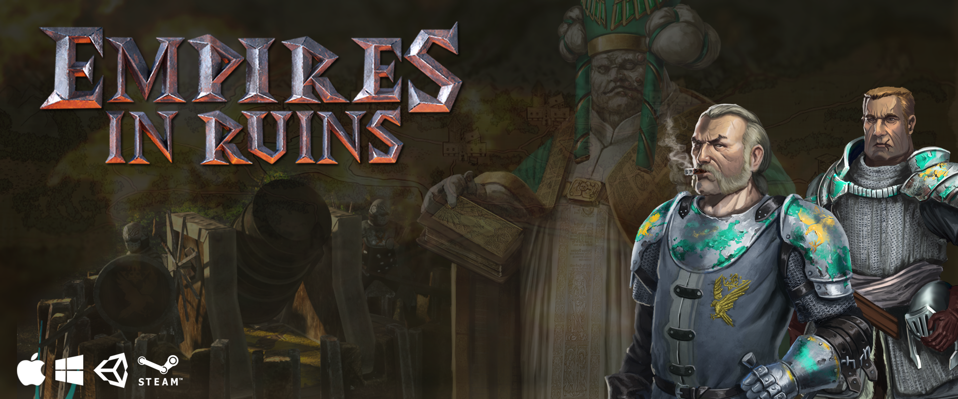 Empires in Ruins - Empires in Ruins is a turn-based, story
