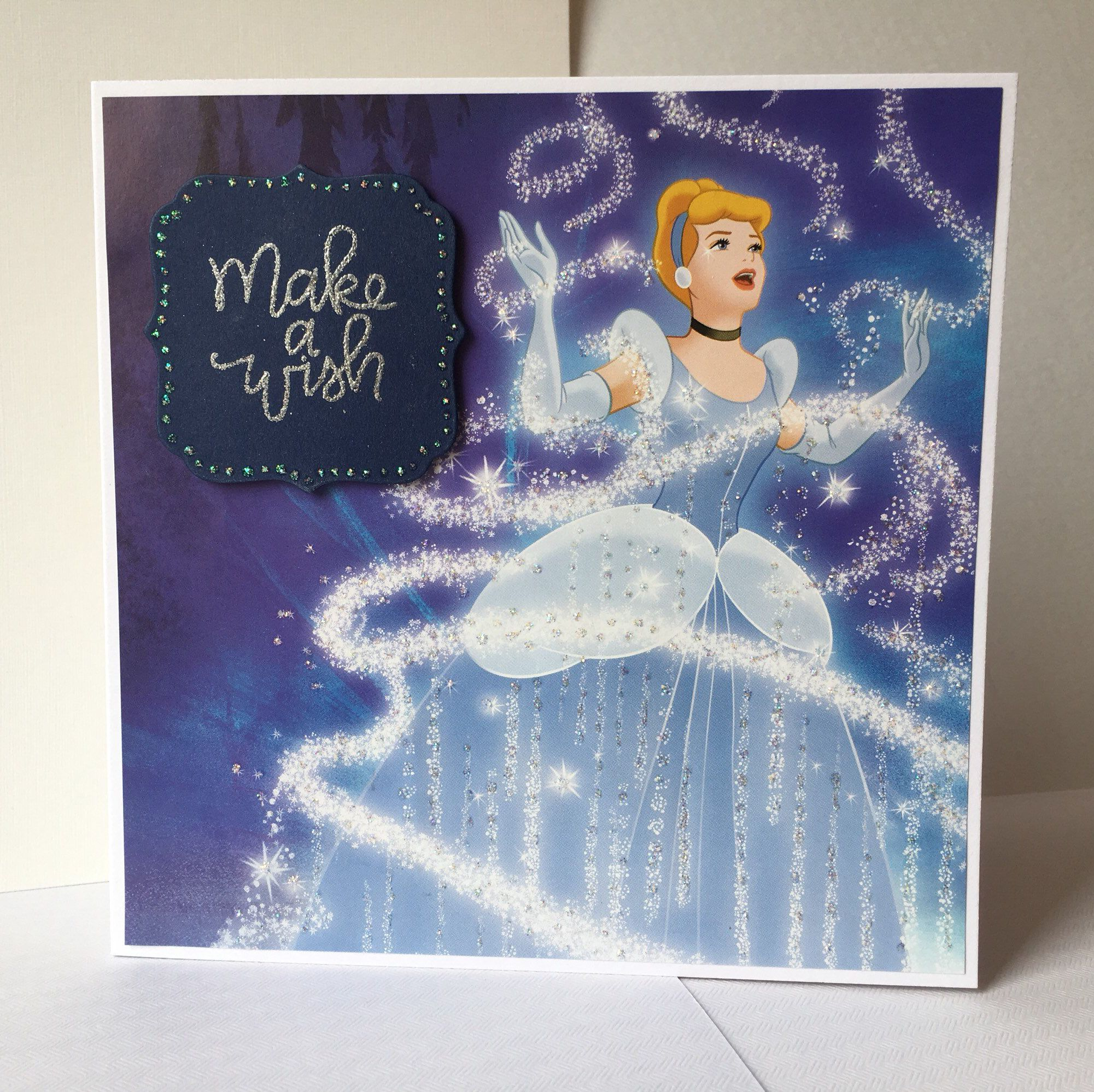 disney cinderella princess make a wish handmade