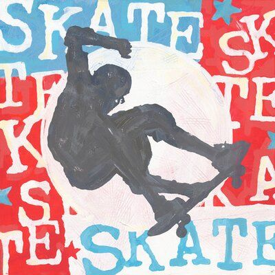 Photo of Oopsy Daisy Extreme Sports Skateboard  Framed Graphic Art | …
