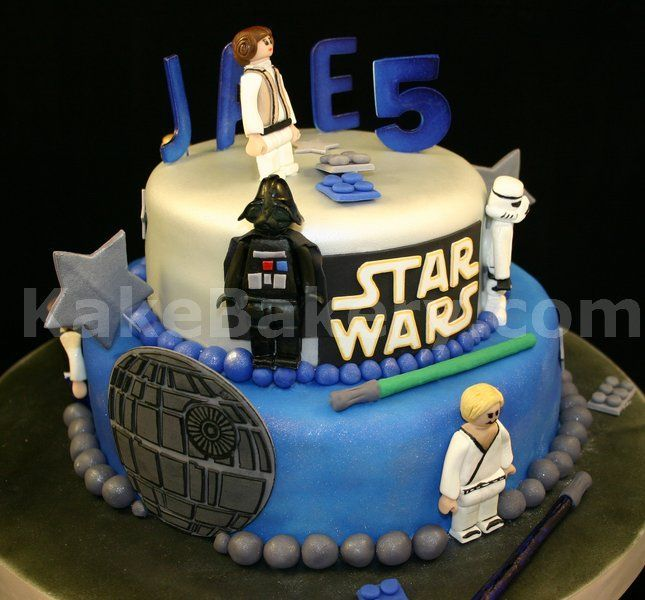 Star Wars Lego Cake - This was one exciting cake to make. Who does ...