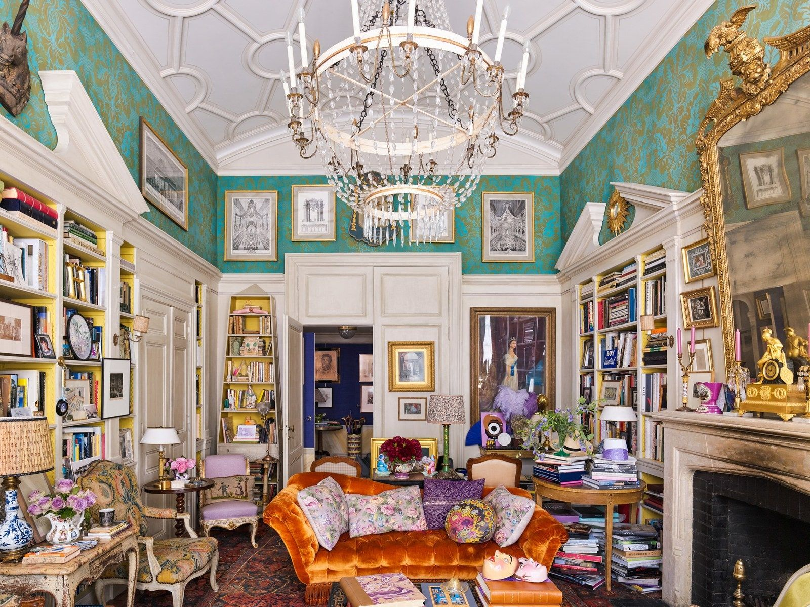 Inside Closed Doors: Hamish Bowles Home | New york city ...